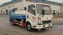 SINOTRUK HOWO 4X2 Water Transporting Vehicle for sale in Africa-ZZ1087D3414C180