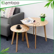 Water Base Painting Round End Tea Table Design