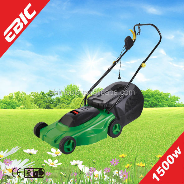 EBIC Lawn Mower 1500W electric grass cutter