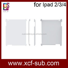 New arrive 3D sublimtion cover cases for Ipad2//3/4