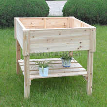 Solid Timber Wood Outdoor Garden Raised Planter Boxes