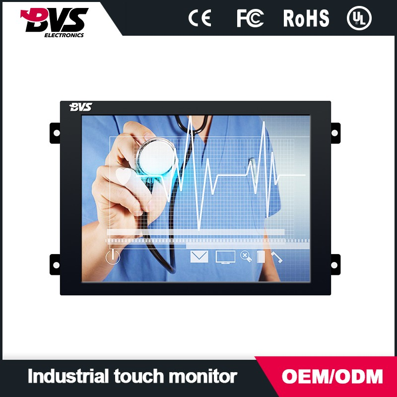 Factory price wide screen 8.4 inch Professional Small LCD Monitor for Medical Equipment