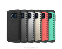 FL3736 2 in 1 armour protective shockproof cover for samsung galaxy s7 hard case