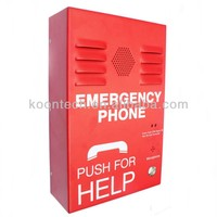 GSM Cold rolled steel fixed dialing numbers emergency telephone for help KNZD-38