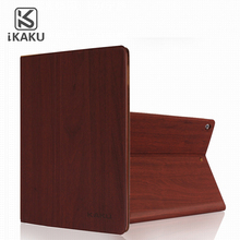 High Quality Wooden Leather Wallet Design Shockproof Case For Samsung Galaxy Tab S2 9.7 T810 T815 Tablet Case cover
