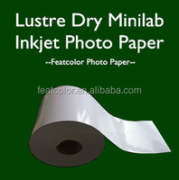 Minilab RC photo paper for Noritsu dry lab printer(Chinese Manufactry)