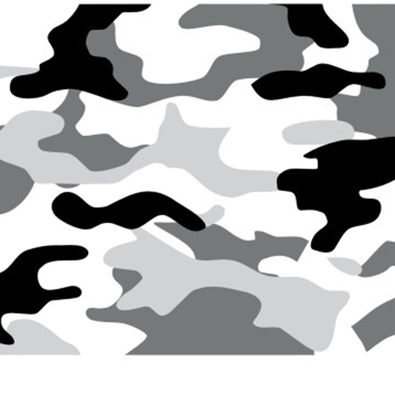 TSAUTOP new style 1.52x30m air free bubbles camouflage sticker bomb cartoon vinyl sticker <strong>film</strong>