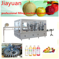 More than ten years manufacturer juice glass bottle filling machine