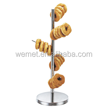 Stainless Steel Donut Display Stand / Food Display Stand