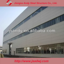 High Quality Well Designed Prefabricated Steel Structure Warehouse Drawing