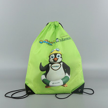 Custom Promotional Sport Pack Recycled Polyester Carry Drawstring Bag