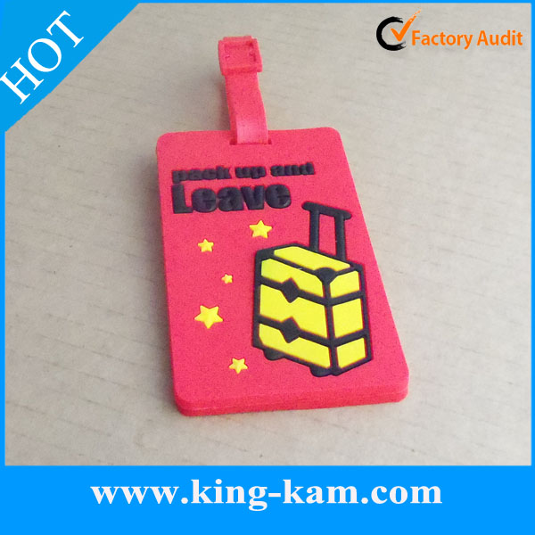 asset tagging labels Pvc Luggage Tag With Logo Travel Pvc Luggage Tag With Logo