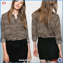 Online Shopping for Wholesale Clothing Best Selling Products in America Leopard Print Fabric Shirt
