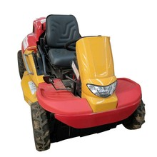 Riding lawn mower with electric start ride on lawn mower garden machine
