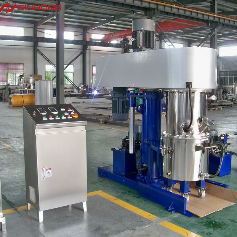 Industrial paint adhesive sealant mixing machine