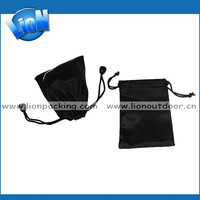 Custom small velvet luxury folding pouch bags for jewelry backpack pouch bag for ladies