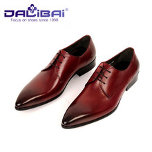 Mens Brown Genuine Leather Formal Shoes Online