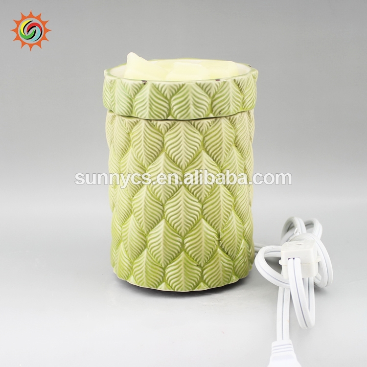 LED candle warmer wax tart catalytic oil burner fragrance lamps with ce