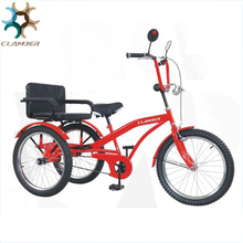 Hot sale touring rickshaw pedal cargo three wheel passenger car tricycle