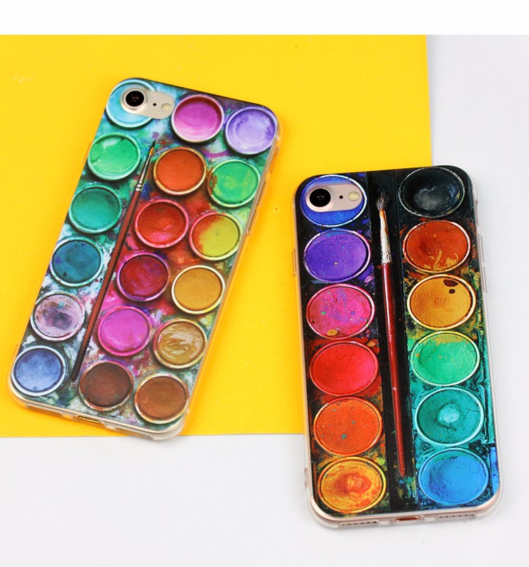 high quality UV oil painting 3D case mobile phones covers for iphone6 case for iphone 6s plus for samsung j7 cover for iphone 7