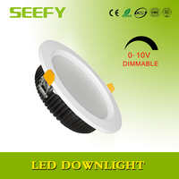 36w led downlight china high power 210mm cutout warm light cool light smd led downlight