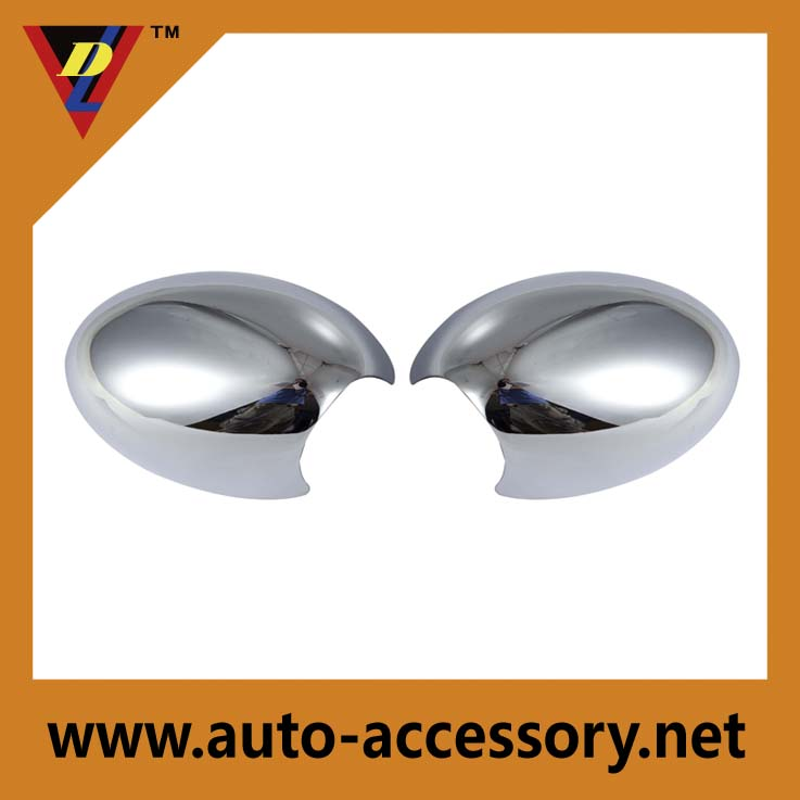 Maker sale plastic car parts accessories chrome mini cooper mirror cover for BMW