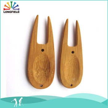 Bamboo Divot Tool With BOPP bag Packing