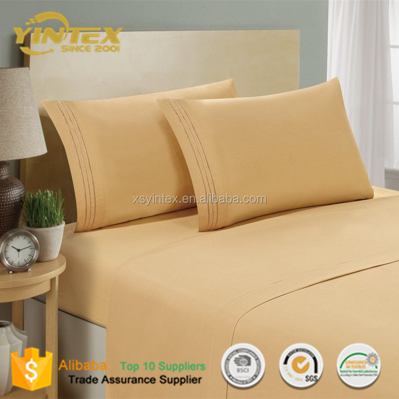 Hot Sale Organic Bamboo Fabric bedding Set for home hotel used