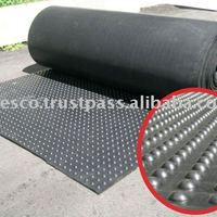 Rubber Mat Roll With Bubble Pattern