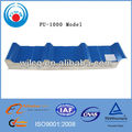 PU foam sandwich wall panel roof panel and cold storage panel