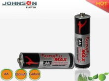Factory price 1.5v R6 dry carbon dry battery aa battery r6