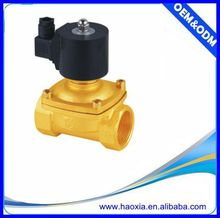 2W 2/2Way Direct Acting Solenoid Normally Closed Valve For Air Water Oil Gas