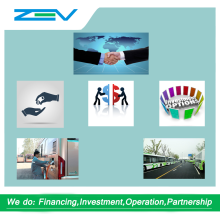 ZEV AUTO Electric bus producer financing and investment for establishing partnership assembly line parts assembly plant