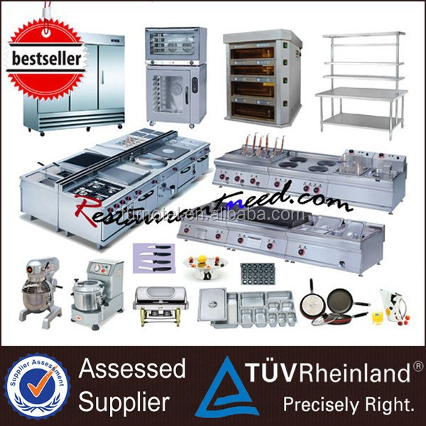 5 star used hotel kitchen equipment list and tools - buy hotel