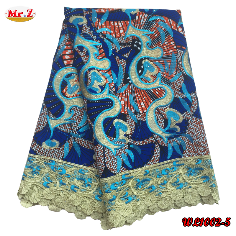 Wholesale Holland Wax Print Fabric African WL1002