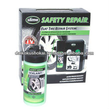 Tubeless Tyre Sealant SLIME SAFETY REPAiR Automatic System SLIME 50056