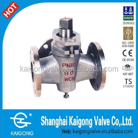 Three way cock valves
