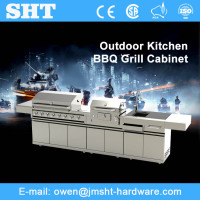 Best-Quality Guangdong Commercial Stainless Steel Modular Kitchen Cabinet