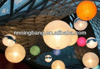 Inflatable LED ball decoration for party