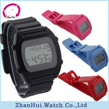 fashion vogue plastic rubber multi-function Electronic watches