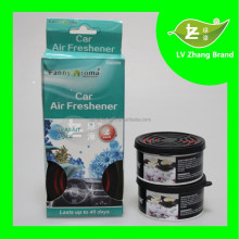 New Design Fragrance lasting Car gel air freshener