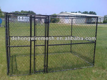 Outdoor application wire welded galvanzied dog cage