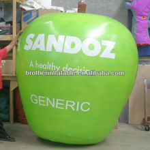 Cheap Promotional Items Inflatable Apple