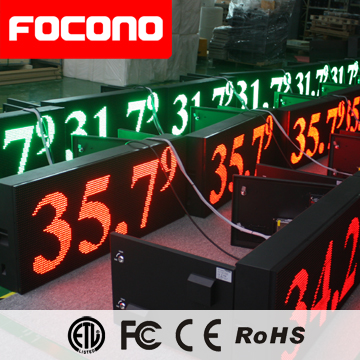 P10 Video LED Open Sign P10 Outdoor Single Color Wfi Wireless Digital Scrolling LED Sign