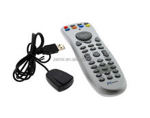 Wireless USB Plug and Play Multimedia Remote Control and Mouse for Kodi XBMC Raspberry Pi OPENELEC Windows 7 8