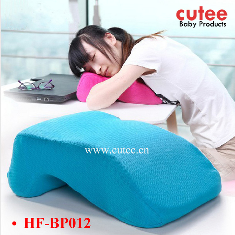 Healthy Comfortable Office Rest Home Use L Shape Sleeping Nap Nursing Pillow Memory Foam
