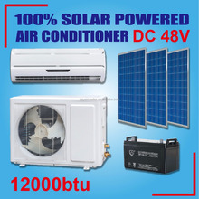 DC 48V low price wall split DC compressor 12000btu solar powered air conditioner