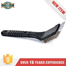 Pp And Stainless Bristles Srubber Grill Bbq Cleaning Brush For Drill
