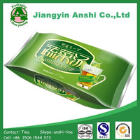 Side gusset pouches for food powder pack heat sealing bags