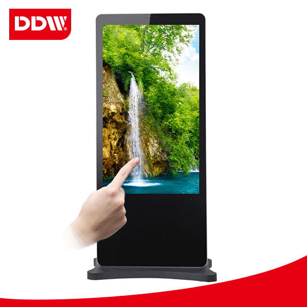 47 inch touch screen monitor, digital signage player Shopping center
